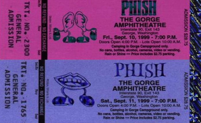 Where They Hoped I'd Be — The Gorge — 09.10-11.1999